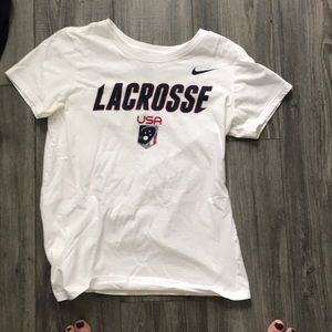 USA lacrosse t shirt